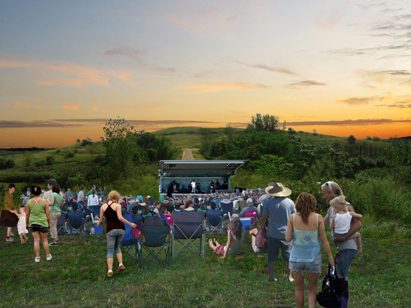 Meadow Concert Rendering