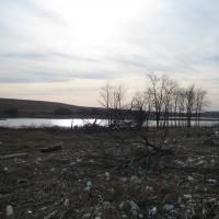 North Park Wetlands after Superstorm Sandy, before cleanup