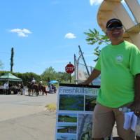 Freshkills Park volunteers