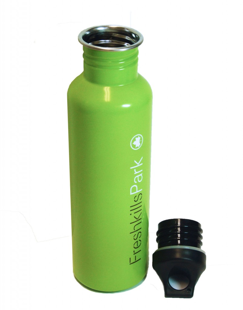 Freshkills Park water bottle