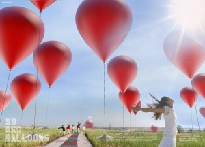 The 99 Red Balloons Project was the 4th place mention for the 2012 Land Art Generator Initiative at Freshkills Park