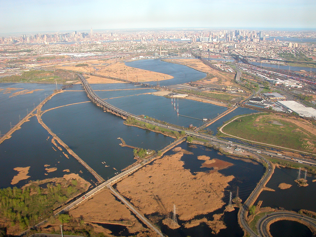 © Doc Searls via Flickr Creative Commons - Aerial View over the Meadowlands near Kearny NJ