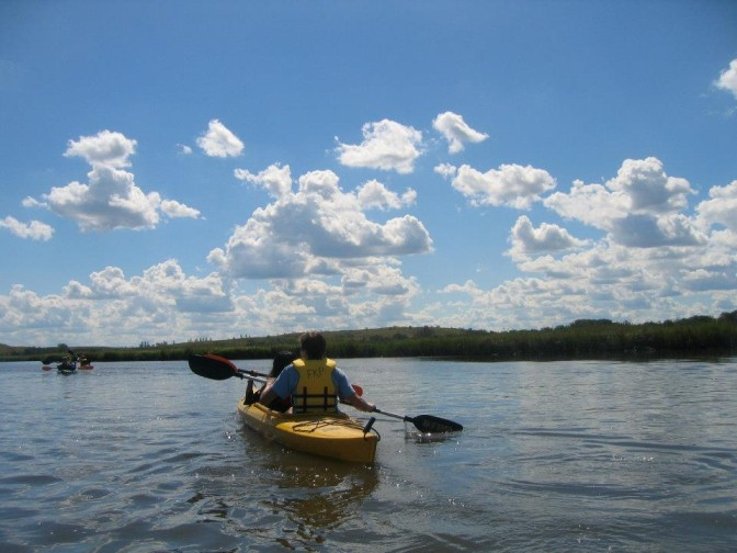 Freshkills Park Kayaking - Micha Bochart