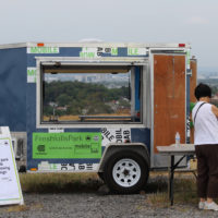 The park's new Mobile Education Lab was on display.