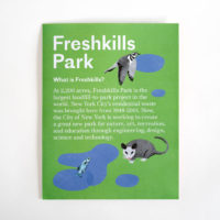 Freshkills Park Poster Pamphlet