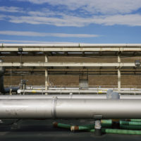 © 2018/2019 Jade Doskow, Leachate Plant Rooftop Infrastructure, Autumn