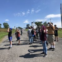 Audubon bird watching walk