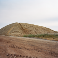 © 2018, 2019, 2020- Jade Doskow Barrier Protection Sand Pile, West Mound 2019